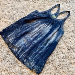 C&C California Tie Dye Racerback Tunic